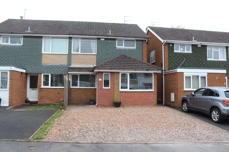 3 Bedrooms Semi Detached House for sale in WORDSLEY, Troon Place
