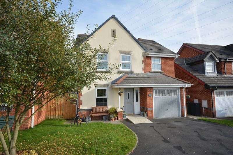 4 Bedrooms Detached House for sale in Honeysuckle Court, Huncoat