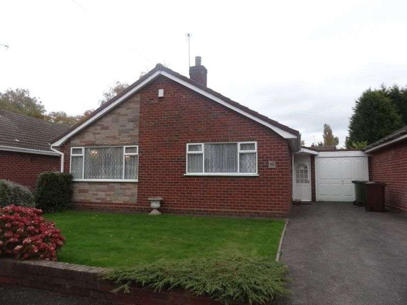 2 Bedrooms Detached Bungalow for sale in Canning Close, Walsall