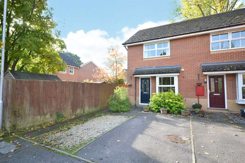 2 Bedrooms End Of Terrace House for sale in Wallcroft Close, Binfield, Bracknell, Berkshire, RG42