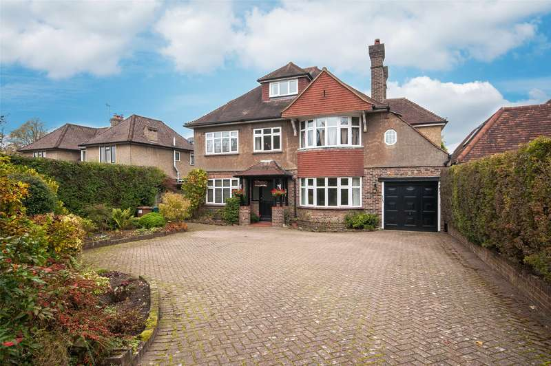 5 Bedrooms Detached House for sale in Blackborough Road, Reigate, RH2