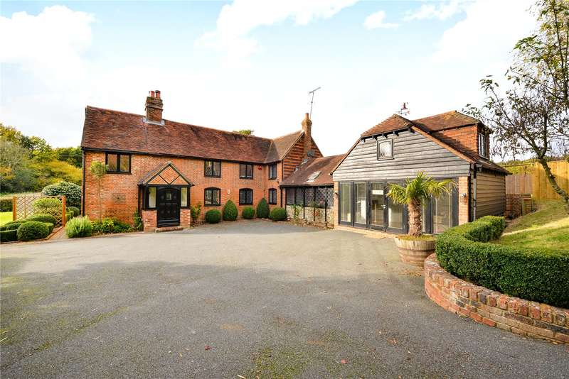 5 Bedrooms Detached House for sale in Fletching Common, Newick