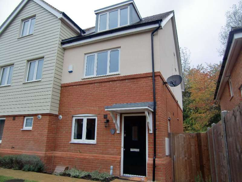 3 Bedrooms Semi Detached House for sale in Aurora Close, Garston, Herts, WD25