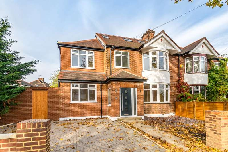 5 Bedrooms Semi Detached House for sale in Northumberland Avenue, Isleworth, TW7