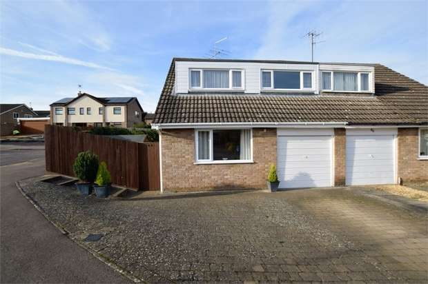 4 Bedrooms Semi Detached House for sale in The Leys, Denton, NORTHAMPTON