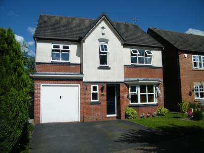 5 Bedrooms Detached House for sale in Eights Croft, Chase Terrace, Burntwood