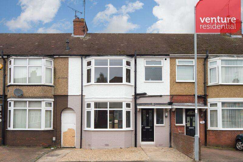 3 Bedrooms Terraced House for sale in Shelley Road, Luton, Bedfordshire, LU4 0JA
