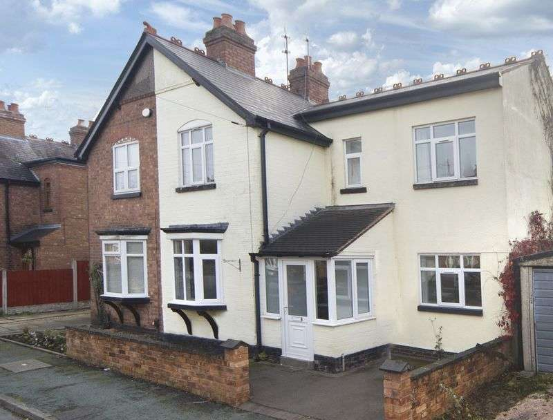 3 Bedrooms Semi Detached House for sale in Wellington Avenue, Bradmore, Wolverhampton