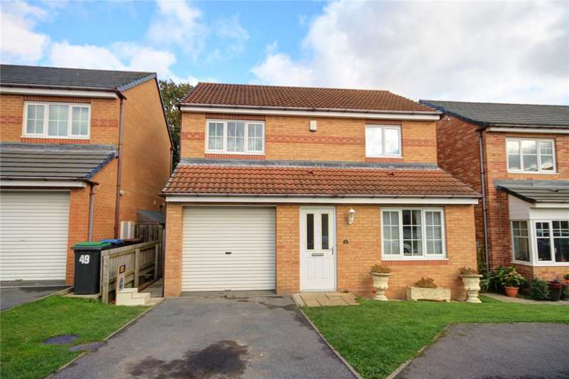 3 Bedrooms Detached House for sale in Cloverhill Court, Stanley, Durham, DH9