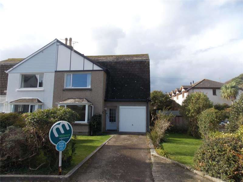 3 Bedrooms Semi Detached House for sale in Sunnyvale Close, Portreath, Redruth