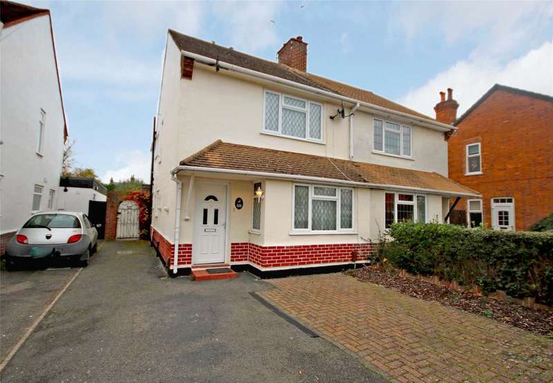 4 Bedrooms Semi Detached House for sale in Wheatash Road, Addlestone, Surrey, KT15
