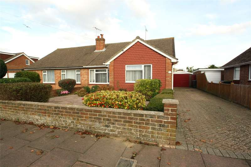 2 Bedrooms Semi Detached Bungalow for sale in Windermere Crescent, Goring-By-Sea, Worthing, BN12