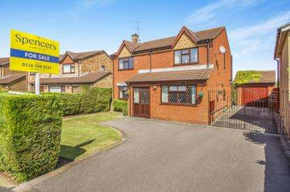 4 Bedrooms Detached House for sale in Shenley Road, Wigston, Leicester, Leicestershire