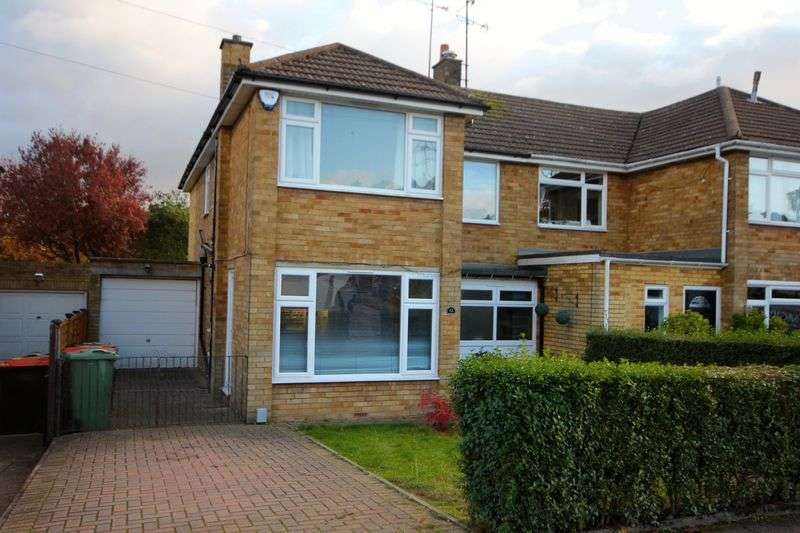 3 Bedrooms Semi Detached House for sale in Goldstone Crescent, Dunstable
