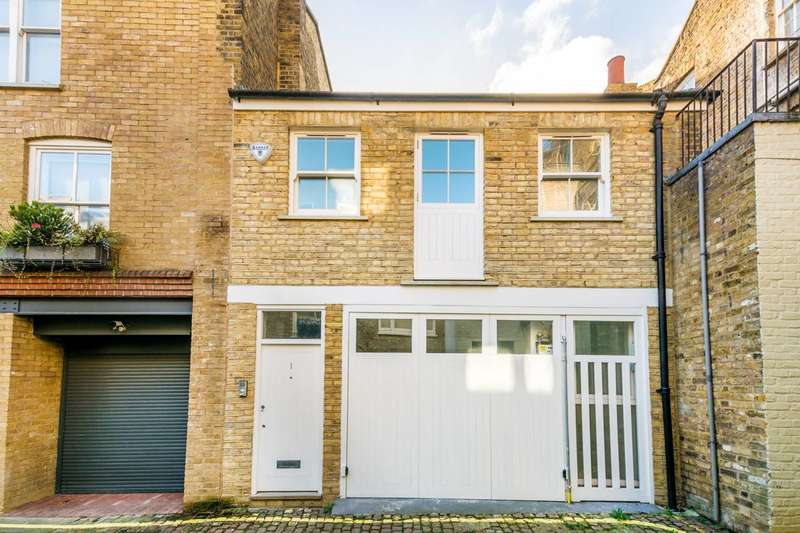 3 Bedrooms House for sale in Wellington Close, Notting Hill, W11
