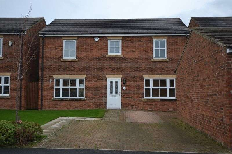 4 Bedrooms Detached House for sale in Tyelaw Meadows, Alnwick