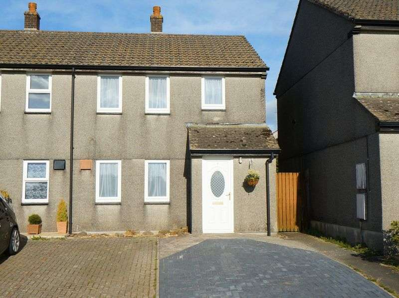 3 Bedrooms Semi Detached House for sale in Lamorna Drive, Callington