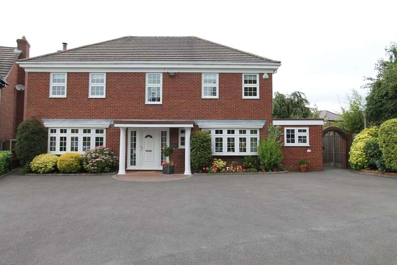 4 Bedrooms Detached House for sale in 10 Ironbridge Walk, Pedmore, Stourbridge, DY9