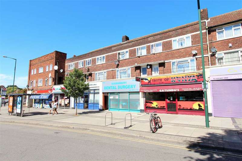 3 Bedrooms Apartment Flat for sale in Queensbury Station Parade, Edgware
