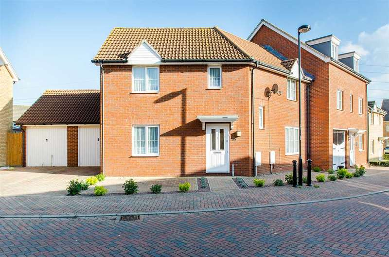 4 Bedrooms Semi Detached House for sale in Manisty Court, Kemsley Fields, Sittingbourne