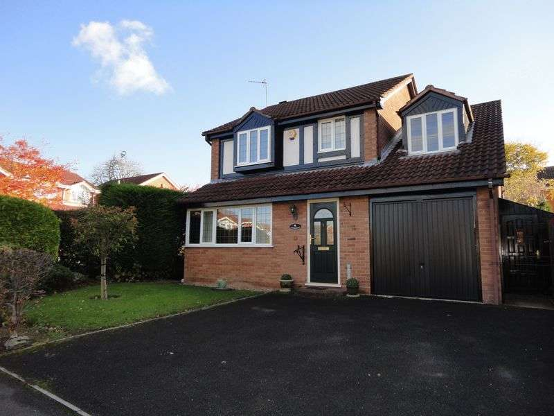 4 Bedrooms Detached House for sale in Tibberton Close, Solihull
