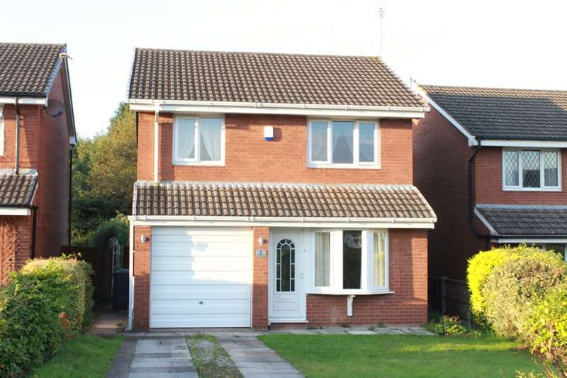 3 Bedrooms Detached House for sale in Daffodil Close, Widnes, Cheshire, WA8