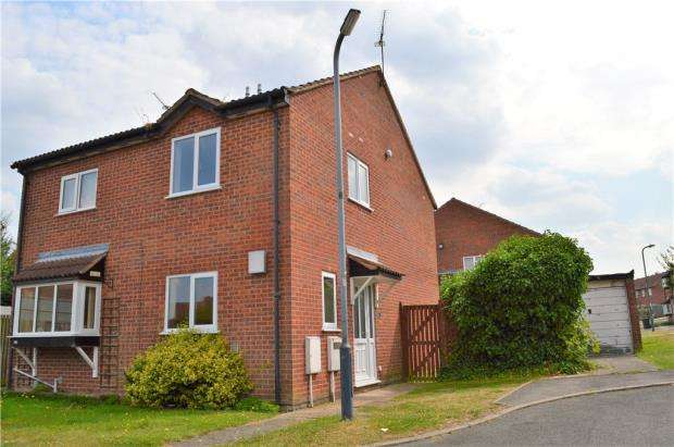 2 Bedrooms Semi Detached House for sale in Longleat Grove, Sydenham, Leamington Spa, Warwickshire