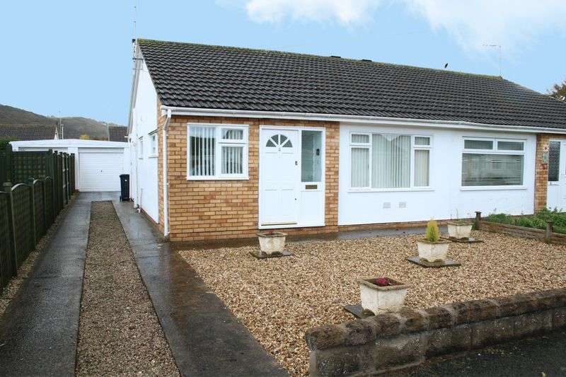 2 Bedrooms Semi Detached Bungalow for sale in Rochester Drive, Prestatyn