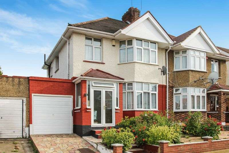 3 Bedrooms Semi Detached House for sale in Elmstead Avenue, Wembley