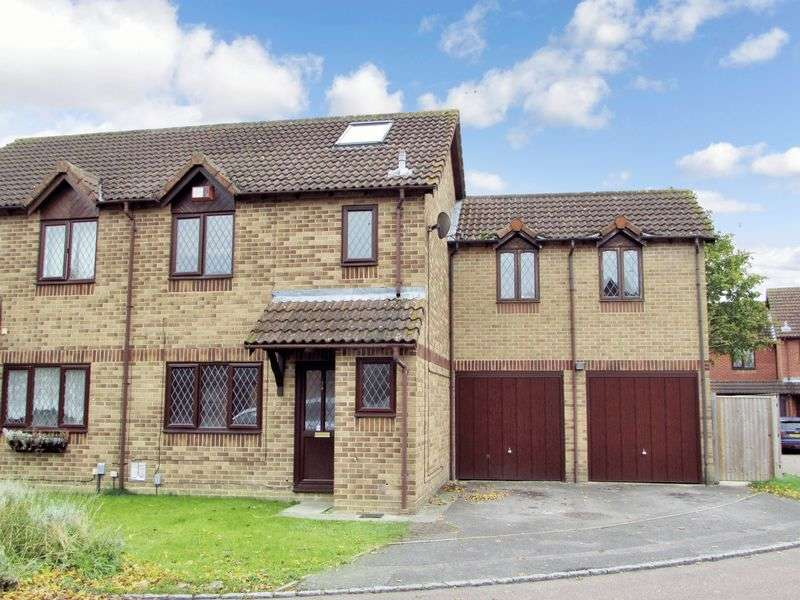 4 Bedrooms Semi Detached House for sale in John Hunt Close, Thatcham