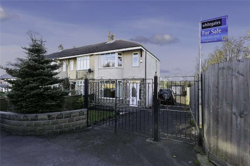 3 Bedrooms Semi Detached House for sale in New Occupation Lane, Pudsey, Leeds, LS28