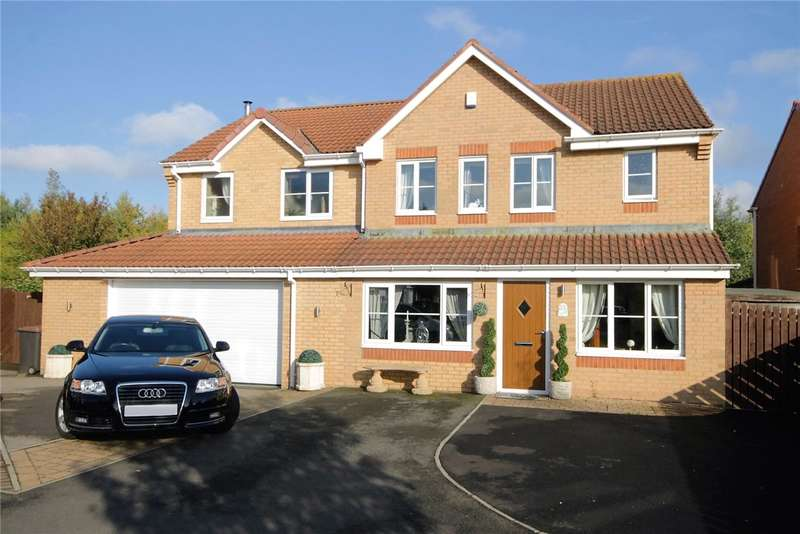 4 Bedrooms Detached House for sale in Grassholme Close, Consett, County Durham, DH8