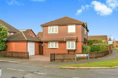4 Bedrooms Detached House for sale in Warden Abbey, Bedford, Bedfordshire