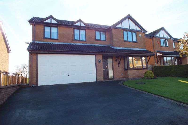 5 Bedrooms Detached House for sale in Woodruff Close, Packmoor, Stoke-On-Trent