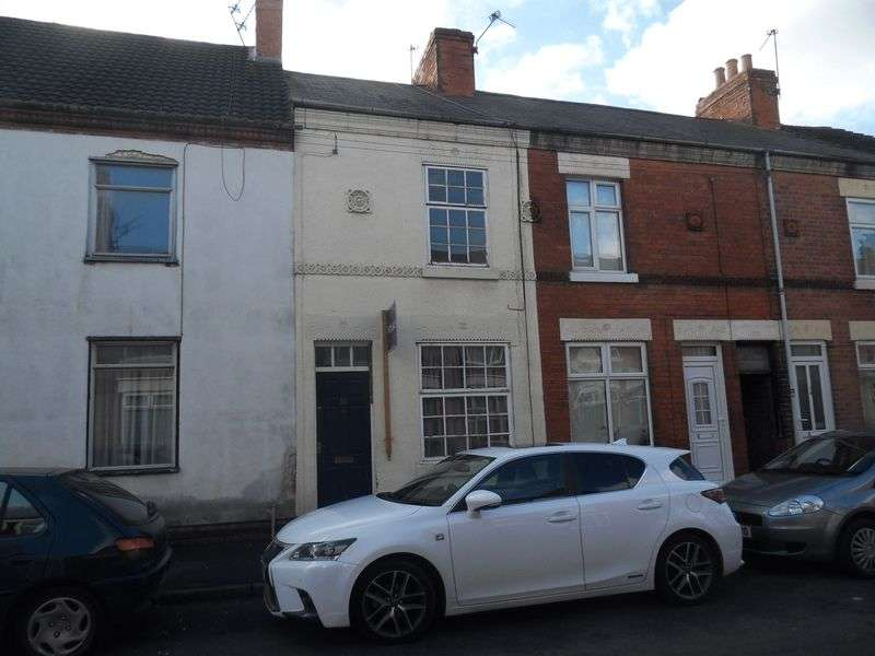2 Bedrooms Terraced House for sale in Melbourne Street, Coalville