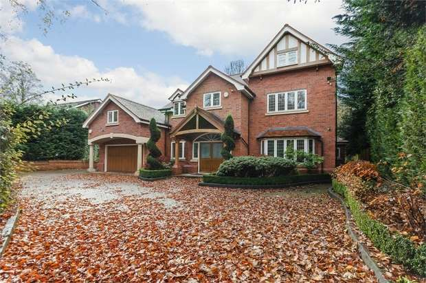 7 Bedrooms Detached House for sale in Hilltop Drive, Hale, Altrincham, Cheshire