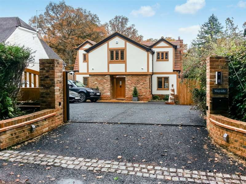 4 Bedrooms Detached House for sale in Uckfield Lane, Hever, Edenbridge, Kent, TN8