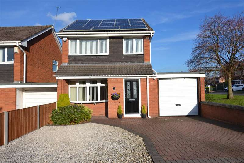 3 Bedrooms Detached House for sale in Longshore Close, Burton Manor, Stafford