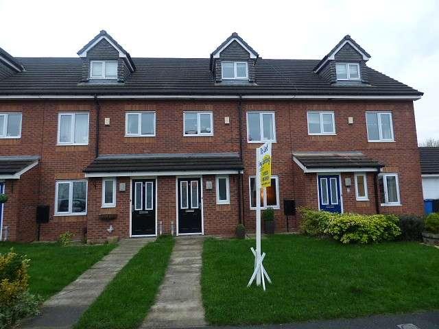 4 Bedrooms Town House for sale in Rushton Close, Burtonwood, Warrington