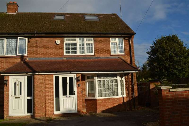 3 Bedrooms Semi Detached House for sale in Gaddesden Crescent, Watford, Herts, WD25
