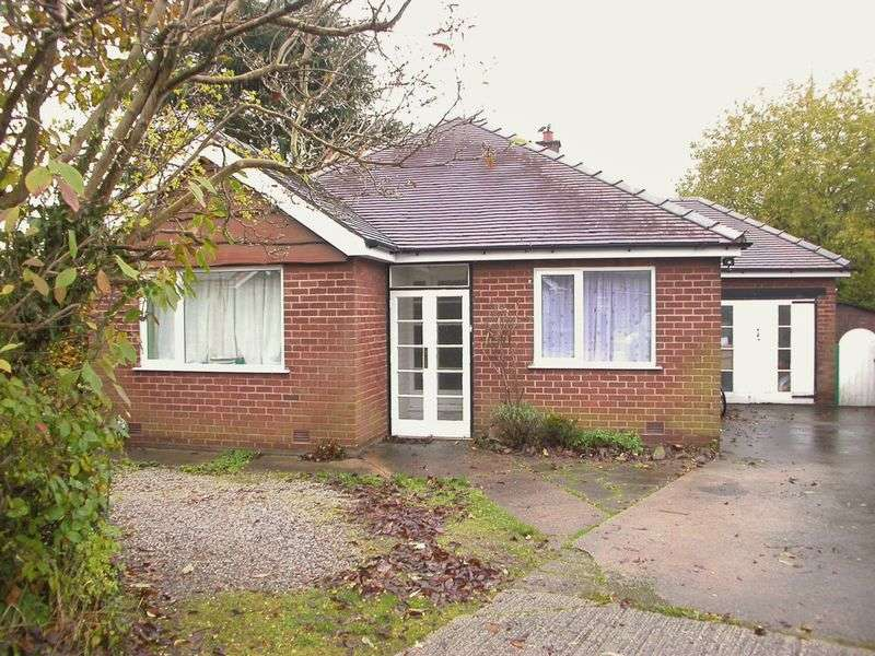 3 Bedrooms Bungalow for sale in POYNTON (GLENFIELD DRIVE)