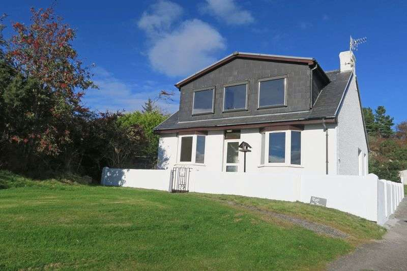 3 Bedrooms Detached House for sale in Old Camp, Kyle of Lochalsh, IV40