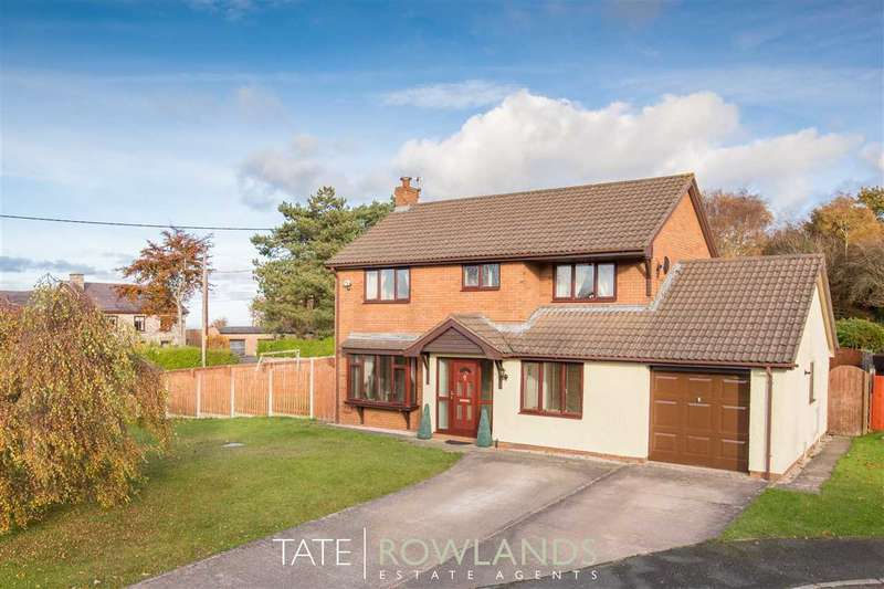 4 Bedrooms Detached House for sale in Bryn Aur, Gorsedd