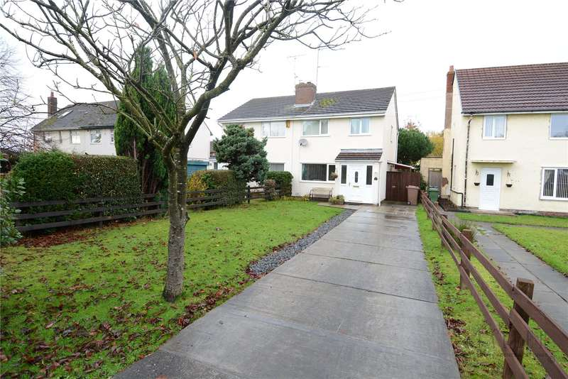 3 Bedrooms Semi Detached House for sale in Kinloss Road, Greasby, Wirral