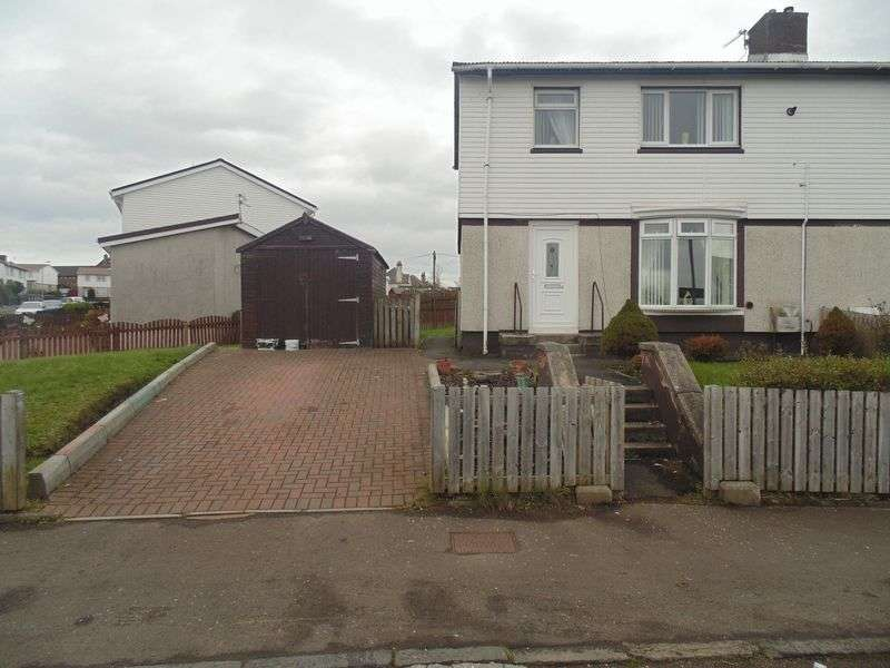 3 Bedrooms Semi Detached House for sale in Hillside Crescent, Motherwell