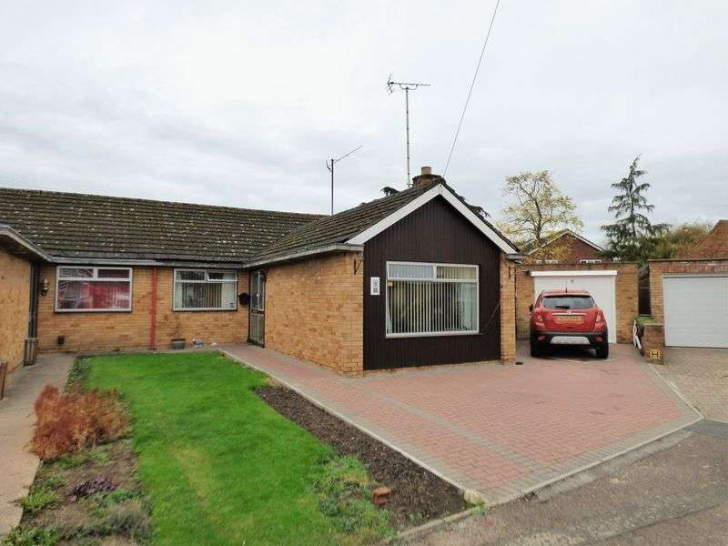 3 Bedrooms Semi Detached Bungalow for sale in Woolstrop Way, Gloucester