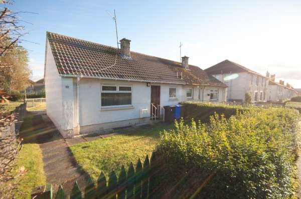 1 Bedroom Semi Detached Bungalow for sale in 44 Lambfair Gardens, Ayrshire
