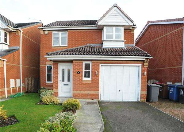 3 Bedrooms Detached House for sale in 35 Primary Close, Cadishead M44 5EX
