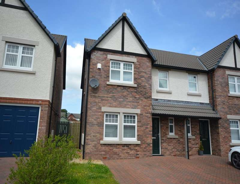 3 Bedrooms Semi Detached House for sale in Lingla Gardens, Frizington, CA26