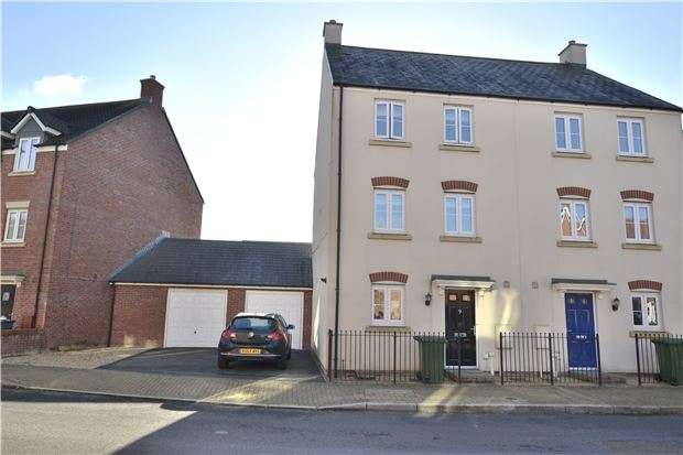 4 Bedrooms Semi Detached House for sale in Sapphire Way, Brockworth, GLOUCESTER, GL3 4FB
